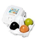 Holika Holika Egg Skin Soap Special Set: Charcoal Egg + White Egg + Red Clay Egg + Green Tea Egg - 4x50g/1.7oz