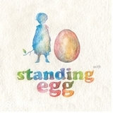 Windmill Media Standing Egg ~ With (new)