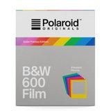 Polaroid Original B+W Film for 600 Color Frame