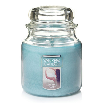 Yankee Candle Catching Rays 14.5-oz. Candle Jar, Light Blue