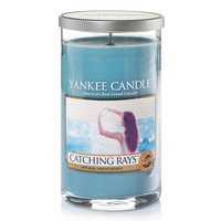 Yankee Candle Catching Rays 12-oz. Candle Jar, Light Blue