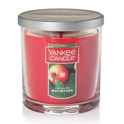 Yankee Candle Macintosh 7-oz. Candle Jar, Med Red