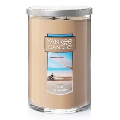 Yankee Candle Sun & Sand Tall 22-oz. Candle Jar, Lt Brown