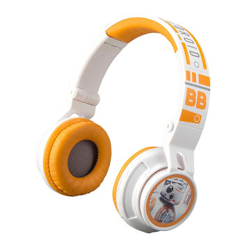 Star Wars: Episode Viii The Last Jedi BB-8 Youth Bluetooth Headphones by eKids, Multicolor