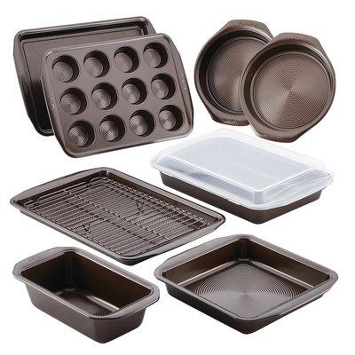 Circulon 10-Piece Non-Stick Bakeware Set, Brown