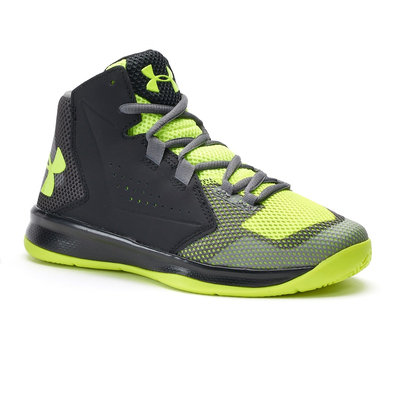 Under Armour Torch Fade Mid Preschool Boys' Basketball Shoes, Size: 13, Oxford
