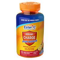 Ester-C Vitamin C Immune Charge Quick Dissolve, 60 Ct