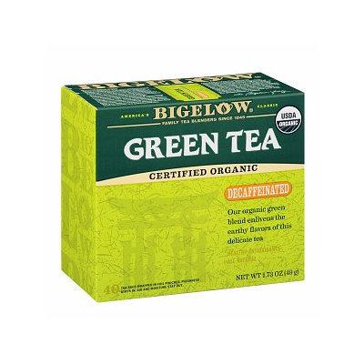 Bigelow Tea Organic Green Tea Decaffeinated 40 Tea Bags