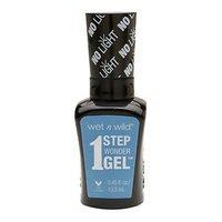 Wet 'n' Wild Wet n Wild 1 Step Wonder Gel Nail Color, Cyantific Method, .45 oz