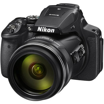 Nikon COOLPIX P900 Digital Camera, 83x Optical Zoom, - Bundle With Camera Bag, 32GB Class 10 SDHC Card, Spare Battery, Full size Tripod, Memory Wallet, Cleaning Kit, Softwra Package