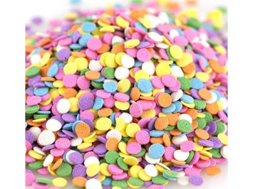 Kerry Confetti Pastel Shapes Bakery Topping Sprinkles 8 ounces