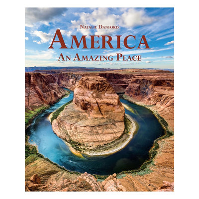 America An Amazing Place Book, Blue