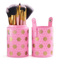 BH Cosmetics Dot Collection Makeup Brush Set, Multicolor