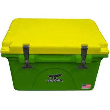 John Deere TS3006001OX22Q 22 qt Lit Cooler with Green & Yellow