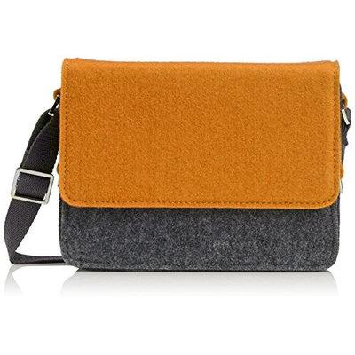 Urban Country Messenger Bag Hunter Bag, Mustard Yellow/Grey UC008007-Mustard