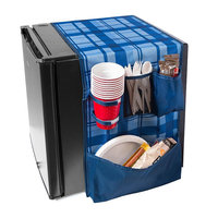 Honey Can Do Honey-Can-Do Mini Fridge Caddy, Blue
