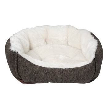 Animal Planet Tweed Pet Bed - Small, Brown
