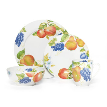 Pfaltzgraff Everyday Orchard 16 Piece Dinnerware Set
