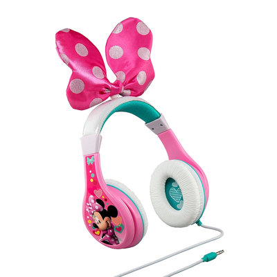 Disney's Minnie Mouse Youth Headphones by eKids, Multicolor