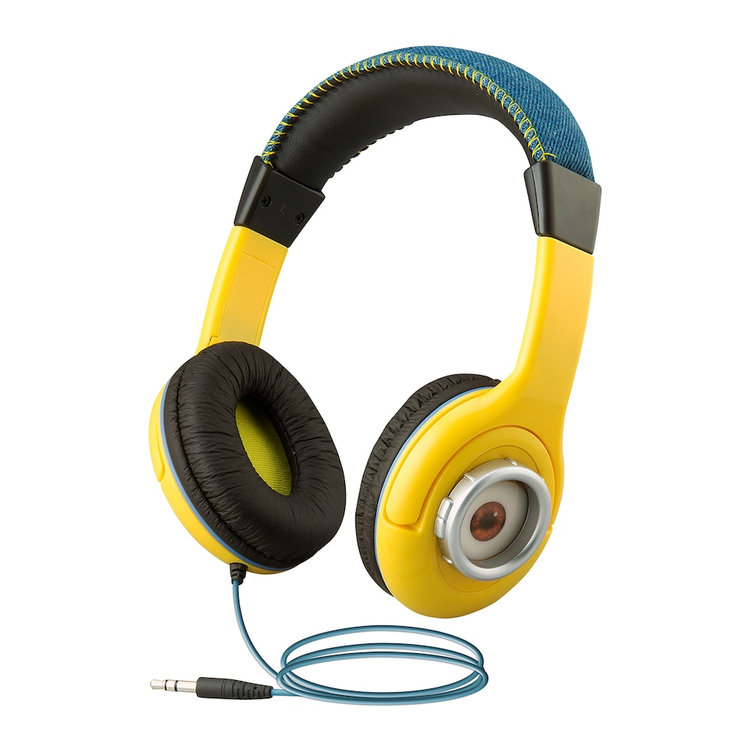 Minions Youth Headphones by eKids, Multicolor