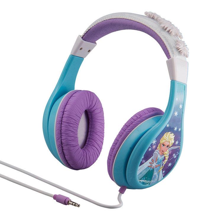 Disney's Frozen Anna & Elsa Youth Headphones by eKids, Multicolor