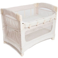 Arms Reach Ideal Ezee 3-in-1 Cosleeper w/Skirt - Natural