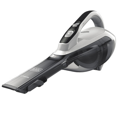 Black & Decker High Capacity Hand Vacuum, White - HLVA320JS10