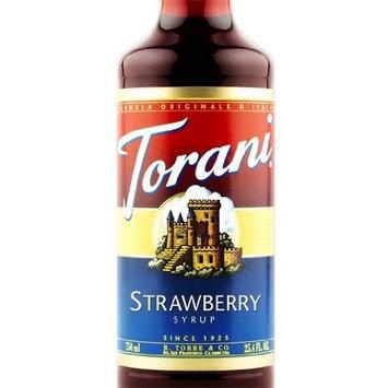 Torani Strawberry Syrup 3 bottles of 750 ml