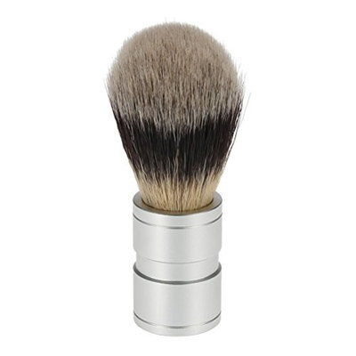ROSENICE Men's Shaving Brush with Metal Handle Cleaning Tool Kit for Beard and Face