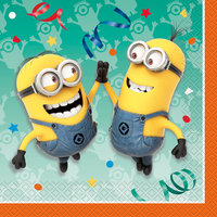 Despicable Me Luncheon Napkins, 16-Count
