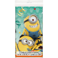Plastic Despicable Me Table Cover, 84