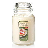 Yankee Candle Christmas Cookie 22-oz. Candle Jar, Lt Yellow