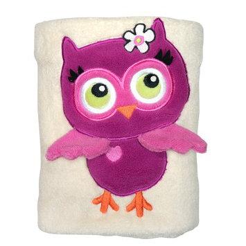 Sozo Owl Snuggle Sherpa Blanket