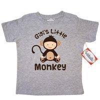 Gigi Little Monkey Grandchild Toddler T-Shirt [baby_clothing_size: baby_clothing_size-4t]