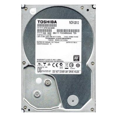 Hitachi Toshiba 2 Terabyte 2TB SATA 6.0 Gbps 7200RPM 64MB Buffer Internal Hard Drive