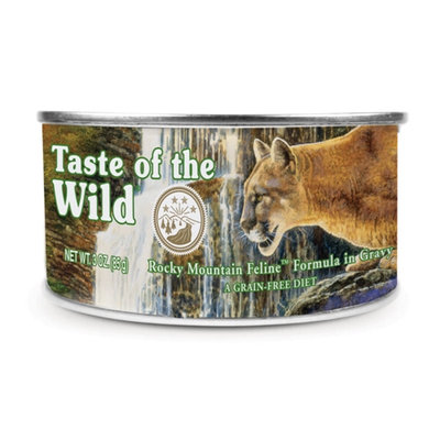 Taste Of The Wild Rocky Mountain Can Cat Food 24Pk