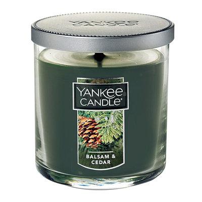 Yankee Candle Balsam & Cedar 7-oz. Candle Jar, Dark Green