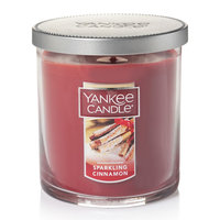 Yankee Candle Sparkling Cinnamon 7-oz. Candle Jar, Med Red