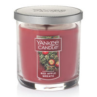 Yankee Candle Red Apple Wreath 7-oz. Candle Jar, Dark Red
