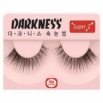 Darkness Faux Eye Lashes (SUPER1) 10ea Set K-Cosmetics
