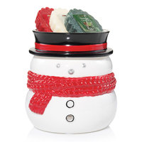 Yankee Candle Snowman Tart Wax Melt Burner 4-piece Set, Multicolor
