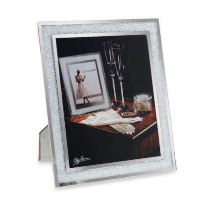 Oleg Cassini Crystal Diamond 8x10 Frame