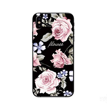 For Iphone X Accessories,HP95(TM) Girlish New Emboss Flower Ultra Thin Soft TPU Case Cover For Iphone X 5.8 inch