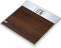 Beurer Digital Faux Wood Glass Scale - Brown