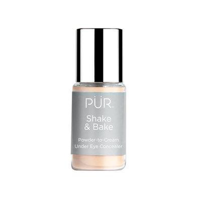 PUR Shake & Bake Powder to Cream Under Eye Concealer, Multicolor