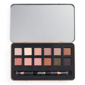 Jolee New York Warm Eyes 12-pc. Eyeshadow Palette & Eyeliner Set, Multicolor