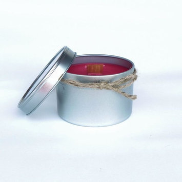 Peach Blossom Yoga 11011 Soy Candle 16 Oz. Red And Cinnamon