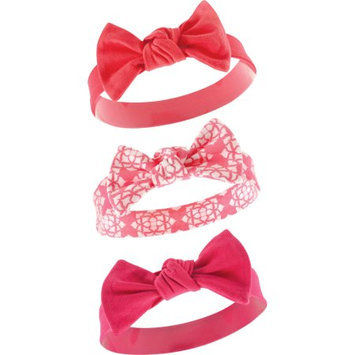 Yoga Sprout Fuchsia & Red Headbands Set - Infant