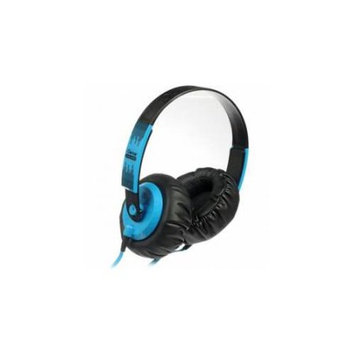 iDance SeDJ900 Headphone - Stereo - Blue, Black - Mini-phone - Wired - 32 Ohm - 15 Hz 20 kHz - Gold Plated - Over-the-head - Binaural - Ear-cup - 5.91 ft Cable