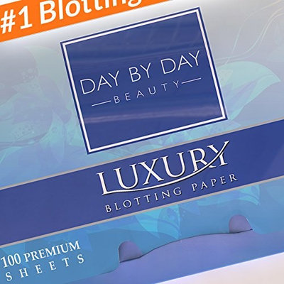 Makeup Blotting Papers: 200 Oil Absorbing Paper Sheets for Face (2 Handy Packs of 100)